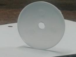 Transparenta plastskydd för att täcka skruvhuvudena