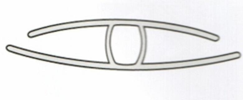 H profil till 8-10mm polykarbonat