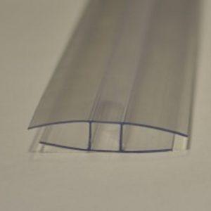 H profil till 16mm polykarbonat