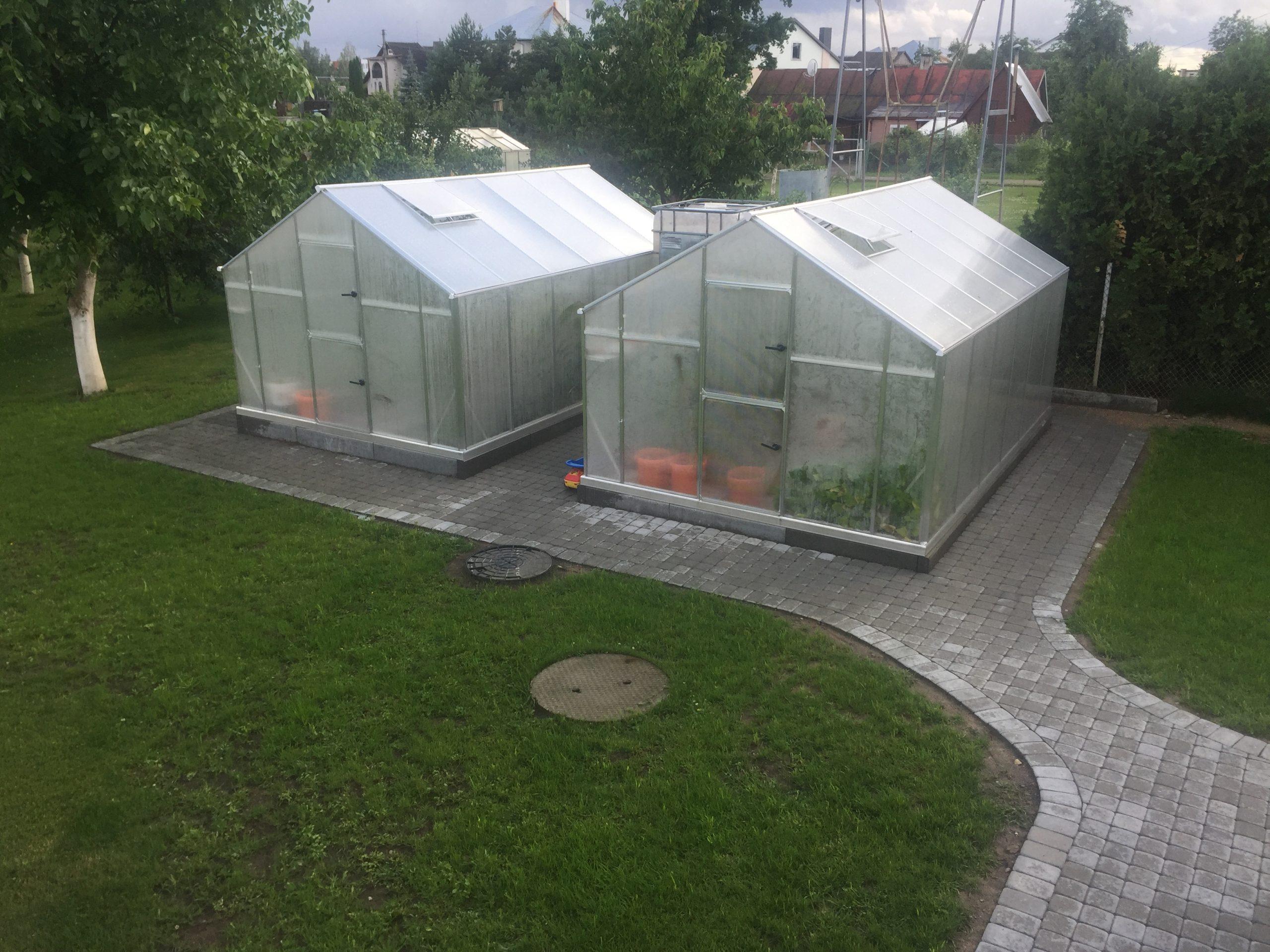 Växthus ALU (6,5 m2 – 18,6 m2)