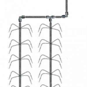Klassiskt Bevattningssystem med spindel 4 (utan tryckkompensation)