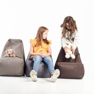 Sittsäck SEAT LEATHER KIDS