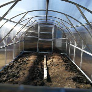 Arched ECO Växthusförlängning, 2m Längd